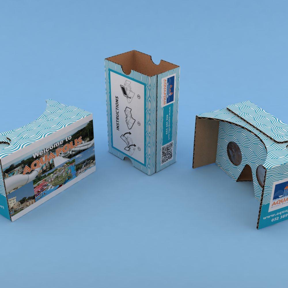 Aquapolis cardboard